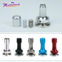 Elasticity Adjustable Coffee Tamper 304 Stainless Steel Aluminum Handle Pressure Hammer Accessories51mm 53mm 57mm 58mm