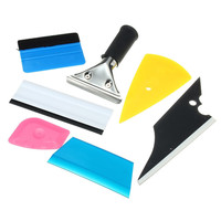 Universal 6 Peices Window Tinting Tendon Tool Kit For Auto Car Squeegee Tint Film Application