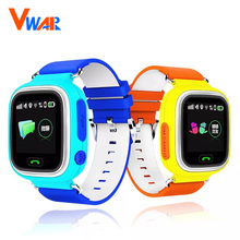 original Q90 Touch Screen WIFI Positioning Baby Smart Watch Children SOS Call Location Anti Lost Monitor Kids GPS tracker VS Q50