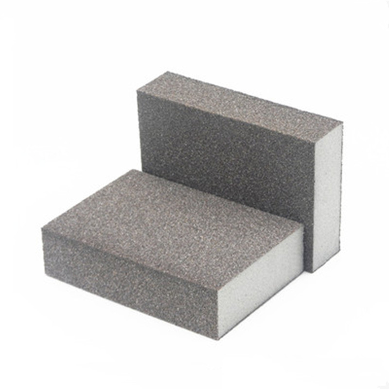 250Pcs Sandpaper Sponge Emery Cloth Polishing Paper Sanding Sponge For Polishing Surface Abrasive Material Free Shipping