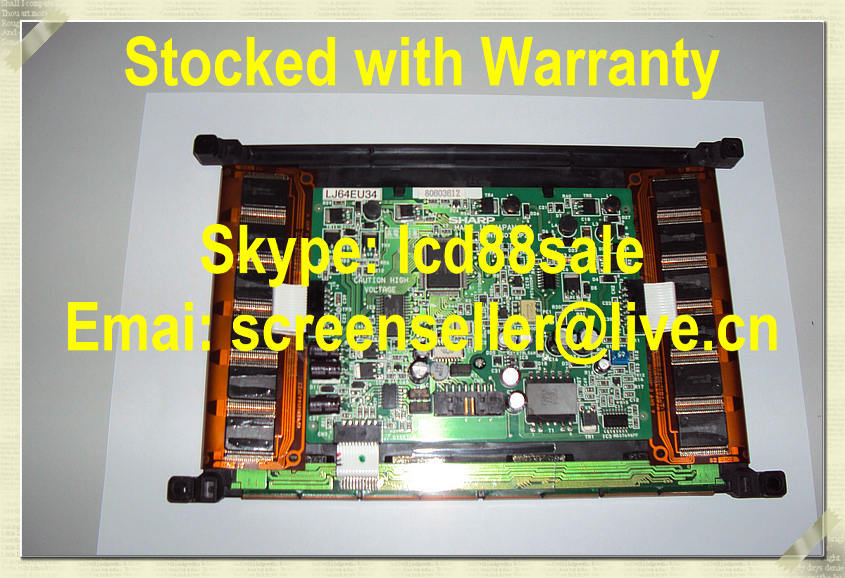 Best Price And Quality  The Original LJ64EU34  Industrial LCD Display