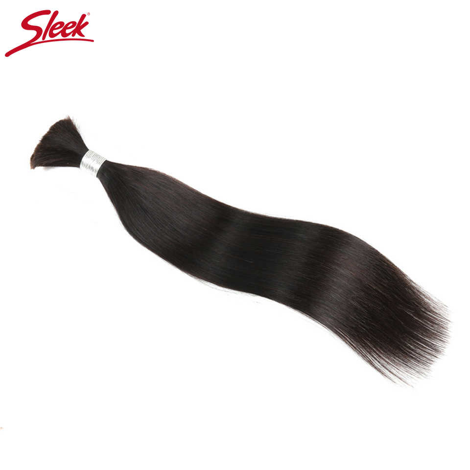 Гладкие Человеческие волосы Remy, малазийские прямые объемные волосы для плетения в естественном цвете от 8 до 30 дюймов, вязанные крючком косички, не уток, волосы оптом
