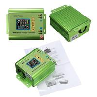 LCD Display MPT 7210A MPPT Solar Panel Charge Controller 24 36 48 60 72V Boost Solar