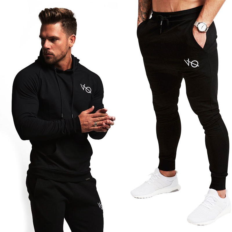Diligent Vanquish Best Gyms Men's Sets 2019 New Sportswear Tracksuits Sets Men's Hoodies+pants Casual Outwear Suits Independence Match Sufficient Supply