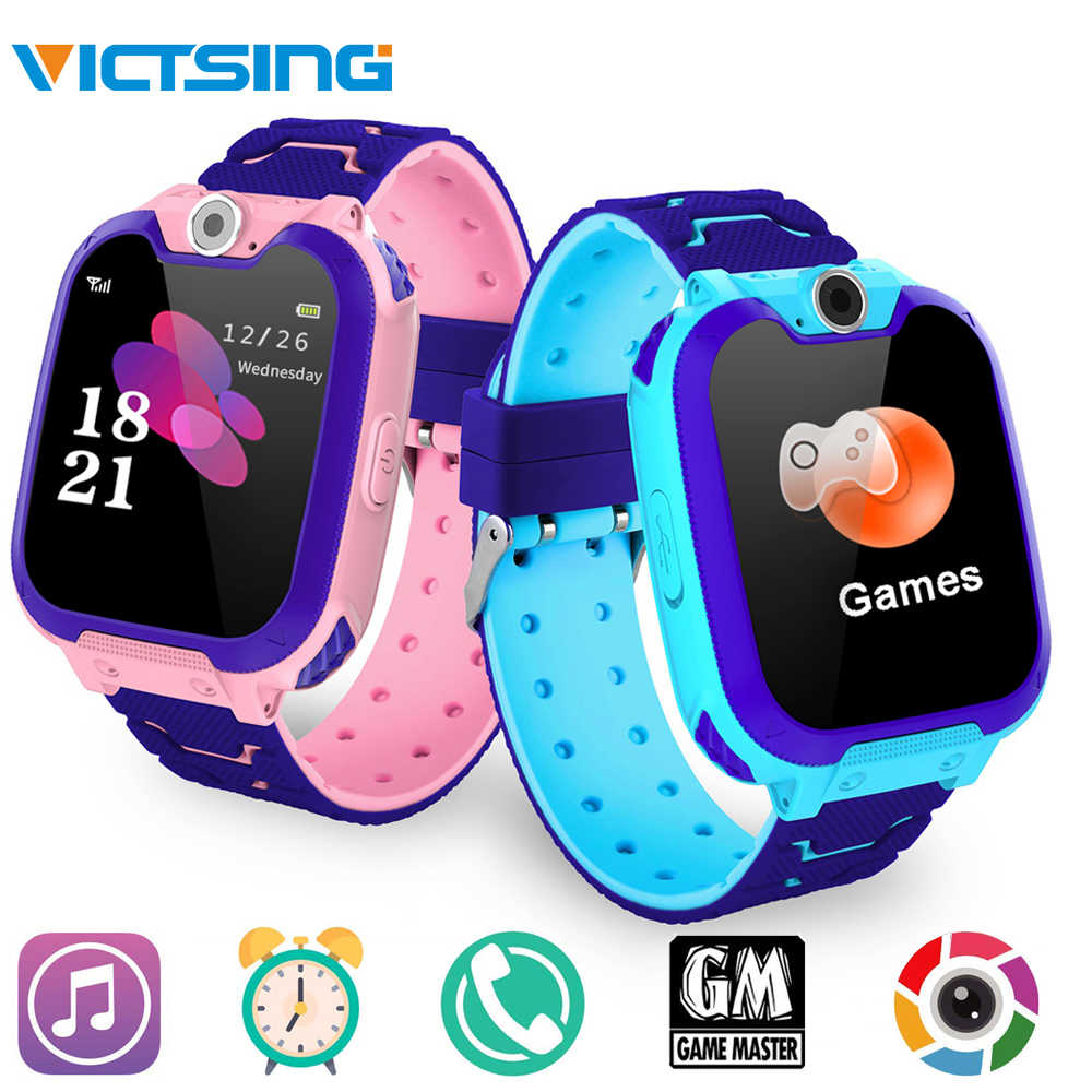 VicTsing Kids Smartwatch Phone Game Watches Touch Screen Camera Watch with SOS Call for Boys Girls Children Gifts Wristband Kids