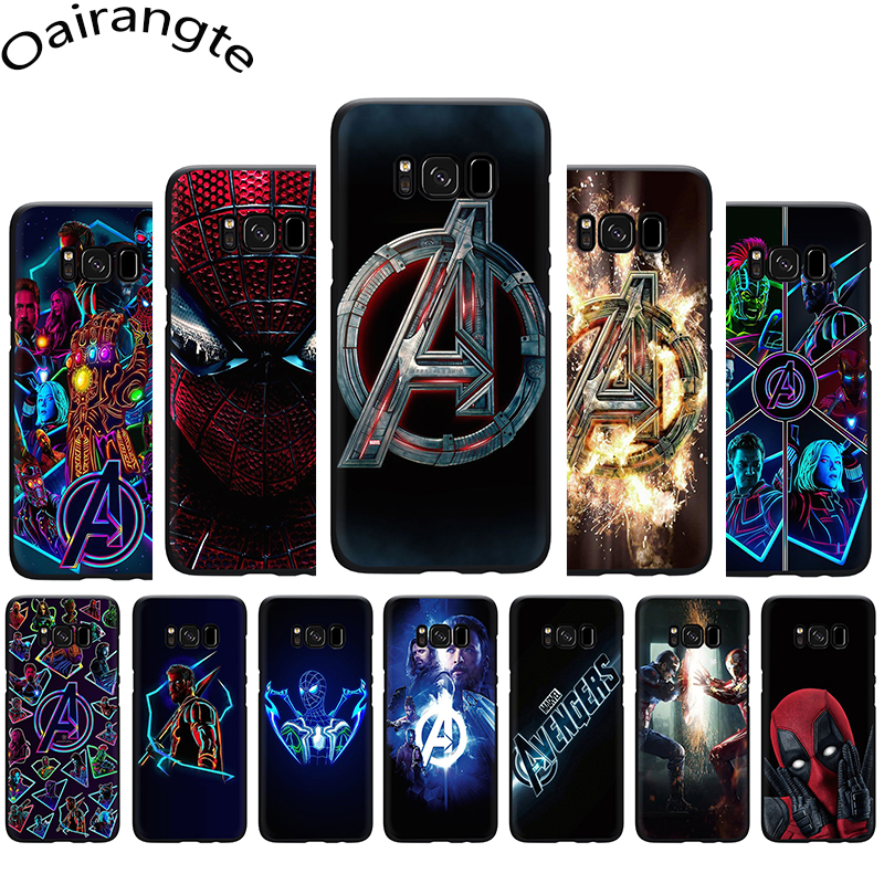 <font><b>Marvel</b></font> Superheroes The Avengers Soft <font><b>Phone</b></font> Cover <font><b>Case</b></font> For Samsung Galaxy M10 20 30 S6 7 Edge S8 9 10 Plus Note8 9 image