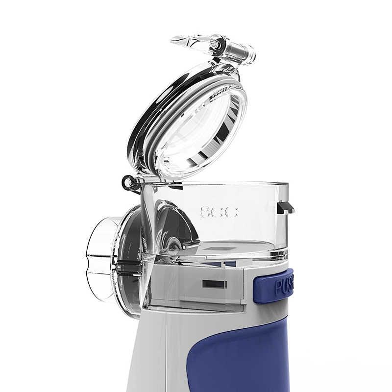Mini automizer para crianças adulto inalar nebulizador ultra-sônico spray aromaterapia vapor cuidados de saúde