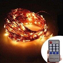 new dimmer 14 keys 10m 33ft 100 led copper wire string lights 12v indoor outdoor christmas - Christmas Light Dimmer