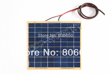 10w 2 pcs 5W 18v Solar Cell panel for diy boat car 12V battery charger free