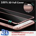 "3D curvada Tempred Glass Protector de Pantalla para el iphone 6 6 s 4.7 ""iphone 6 plus 6 splus 5.5"", 2.5D 0.26mm 9 H."