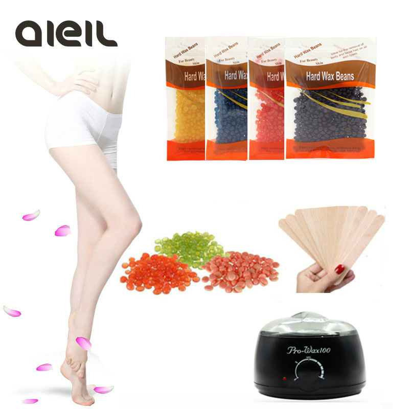 400g NEW Bag Depilatory Wax Heater Warmer Heater Machine Hair Removal Wax Beans Heater Depilatory Hair Removal Wax Epilator