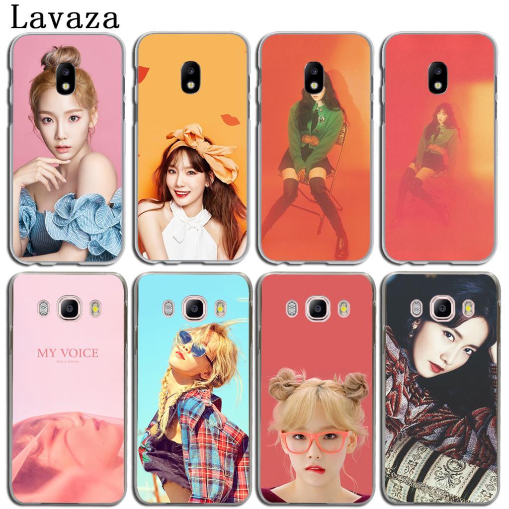 Lavaza Taeyeon Yoona SNSD Phone Shell Hard Case for Samsung Galaxy J3 J1 J2 J5 J7 2015 2016 2017 J2 Ace Pro J5 J7 Prime Cover