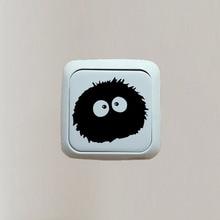 Vinyl Decal Sticker Totoro Ghibli Cartoon Switch Sticker Bedroom Decor 3SS0008
