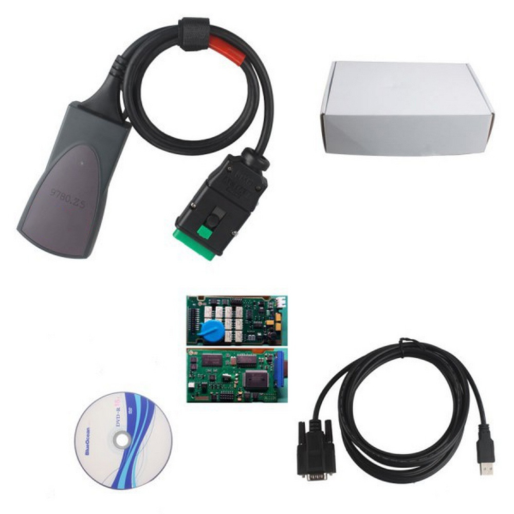 Image 5 - Car Diagnostic Tool Full Chip Diagbox V7.83 with Firmware 921815C  Lexia3 PP2000 V48/V25 lexia 3 For Citroen/Peugeot