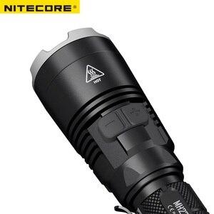 Image 5 - חדש Nitecore MH27 פנס CREE XP L היי V3 LED 1000LM RGB נוריות גבוהה בהיר לפיד עמיד למים Freeshiping