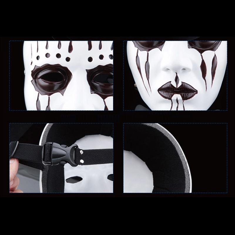 Խեժ Gmask Slipknot Joey Cosplay Mask Մոլախաղեր Դիմակ - Տոնական պարագաներ - Լուսանկար 5