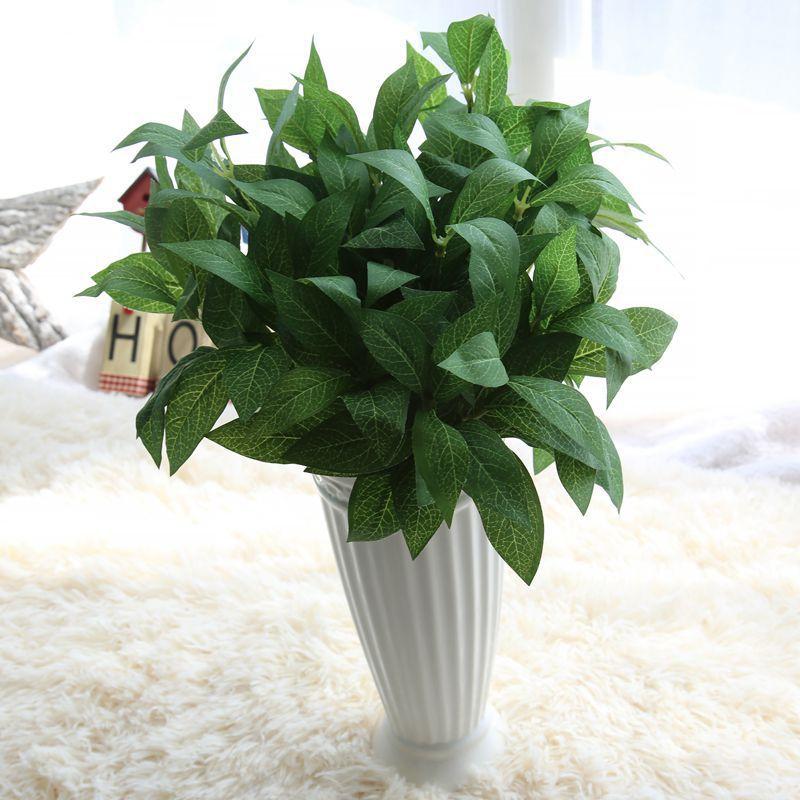 simulation 7 branches real touch bay leaf artificial plants decorative fake laurel leaf plants. Black Bedroom Furniture Sets. Home Design Ideas