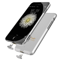 External Battery Portable Charger Power Bank Cover Case For Iphone 7 Plus Iphone 6s Plus Backup