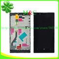 Original 720 LCD Touch Panel For Nokia lumia 720 LCD Display Touch Screen Panel Digitizer With Frame Assembly Free By Post