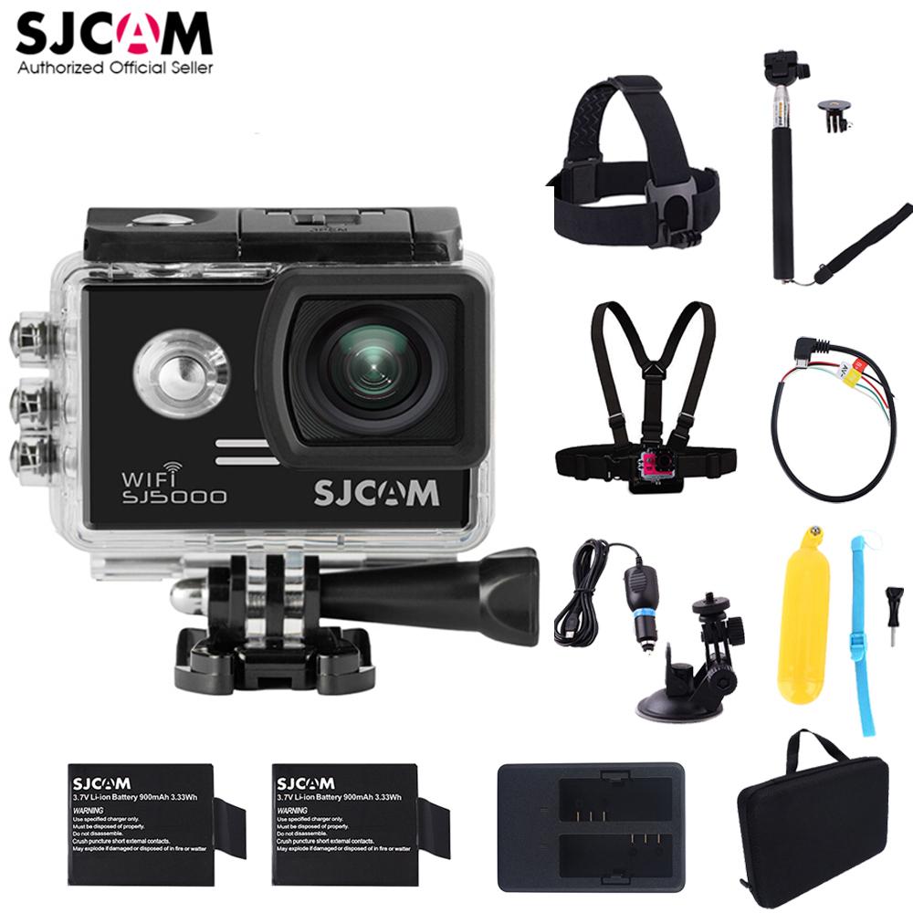 100 Original SJCAM SJ5000 WiFi Novatek96655 14MP Diving 30M Waterproof Mini Sports Action Camera Sj 5000