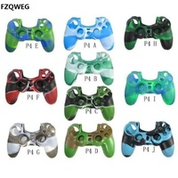 FZQWEG 25 PCS Silicone Rubber Case Skin Grip Cover For PS4 random number