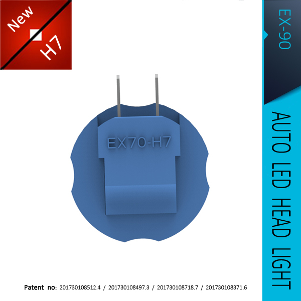 DLAND EX 90 EX90 ALL IN ONE AUTO LED BULB NO WIRE NO EXTRA DRIVER, H1 H3 H4 H7 H11 HB3 HB4 H16 9005 9006 9007, 12V 24V 20W DC