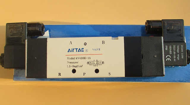 AirTac new original authentic solenoid valve 4V430E-15 DC24V [sa] new japan smc solenoid valve syj5240 5g original authentic spot