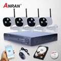 ANRAN New 8CH NVR 2TB HDD 2MP 1080P Wireless Video Surveillance IP Camera WIFI CCTV System For Home Array IR Security Monitor