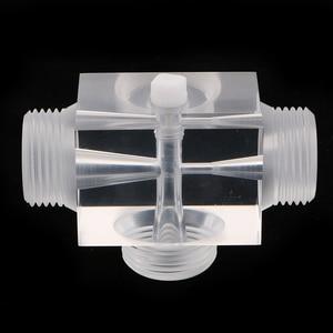 Image 1 - Jet Beluchter Van Venturi Pulsator Injector Voor Water Behandeling Farmaceutische Kit 60X43X43 Mm Gemaakt Van Plexiglas