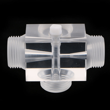 Venturi Pulsator injector의 제트 에어 레이터 수처리 용 제약 키트 60x43x43mm 플렉시 유리