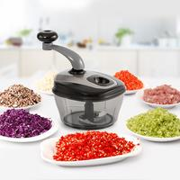 Kitchen Multi Function Shredder Dishes Vegetable Pepper Grinder Dumpling Pug Stuffing Mixer Tool Food Vegetable Chopper Slicer