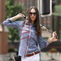 Veri Gude 2014 Autumn Women S Popular Full Sleeve Cotton Shirt
