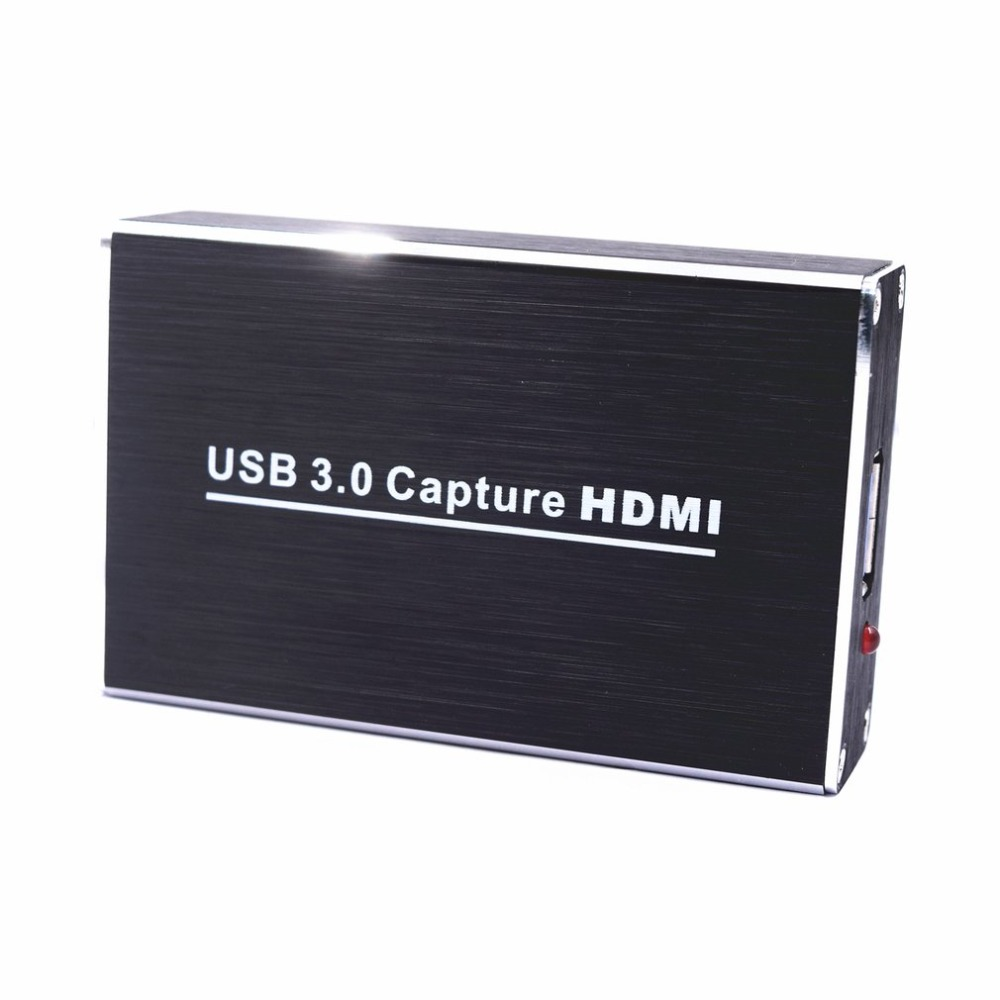 Free Drive USB3.0 Capture HDMI To USB Capture Video Capture Dongle HD Phone Games Meeting Video Capture Box For OBS POTPAYER
