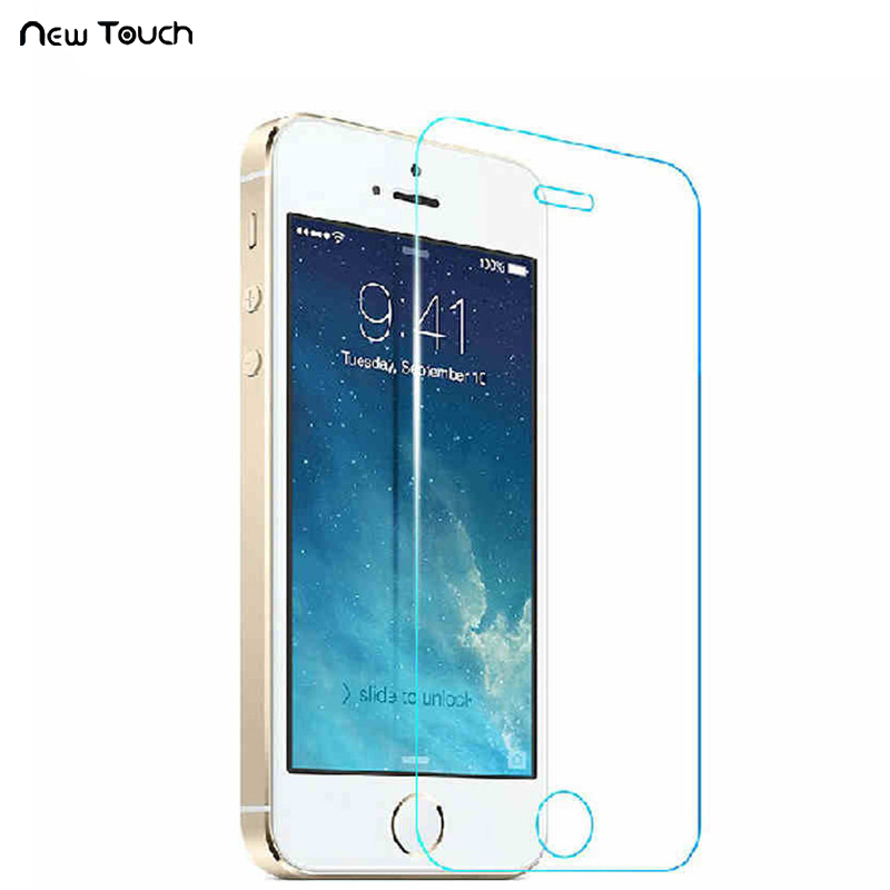 5pcs 3pcs 0.3mm iPhone 11 Pro X Xs Max üçün Tempered Glass Film 6 6s 6 8 üstəgəl SE XR-də iPhone üçün 5 5s 7 Plus 2.5D ekran qoruyucu