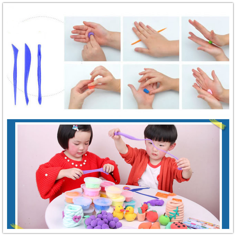 Air Plasticine Clay Colorful Plasticine Ultralight Polymer Clay Craft Toy DIY Soft Clay (4)