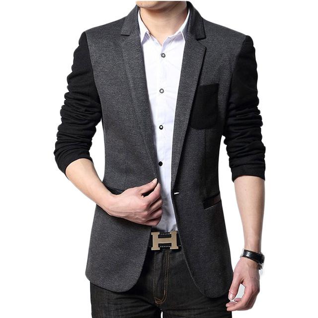 2017 New Arrival Frete Grátis Alta Qualidade Fashion Men Suit! New Arrival Homens Blazer Negócios Magro dos homens de Roupas Terno Masculino