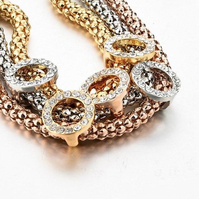 Фото женский браслет из нержавеющей стали с кристаллами sbr160366 цена