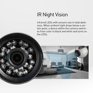 Image 4 - 1920x1080 P 2.0MP LED الأشعة تحت الحمراء مقاوم للماء رصاصة كاميرا IP في الهواء الطلق CCTV للرؤية الليلية P2P نظام الأمن المراقبة بالفيديو HD كام