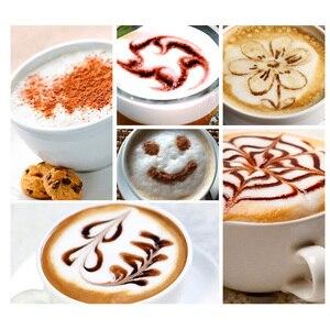 Image 2 - Tự động Bọt Sữa với Bình Chứa Bằng Thép Không Gỉ cho Xốp Mềm Cappuccino Điện Cà Phê Sữa Sữa Rửa Mặt Foamer Máy Máy Làm