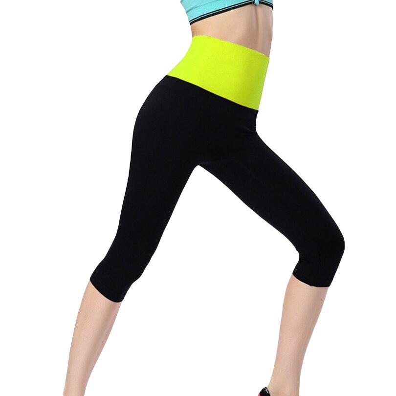 Prix pour Plus la Taille Femmes Leggings D'été Taille Haute Sport Legging Yoga WorkOut Pants Sexy Remise En Forme Leggins Pantalon Jeggings
