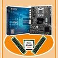 В продаже бренд HUANAN ZHI X58 Pro LGA1366 материнская плата со скидкой материнская плата с процессором Intel Xeon E5645 2 4 ГГц RAM 16G (2*8G)