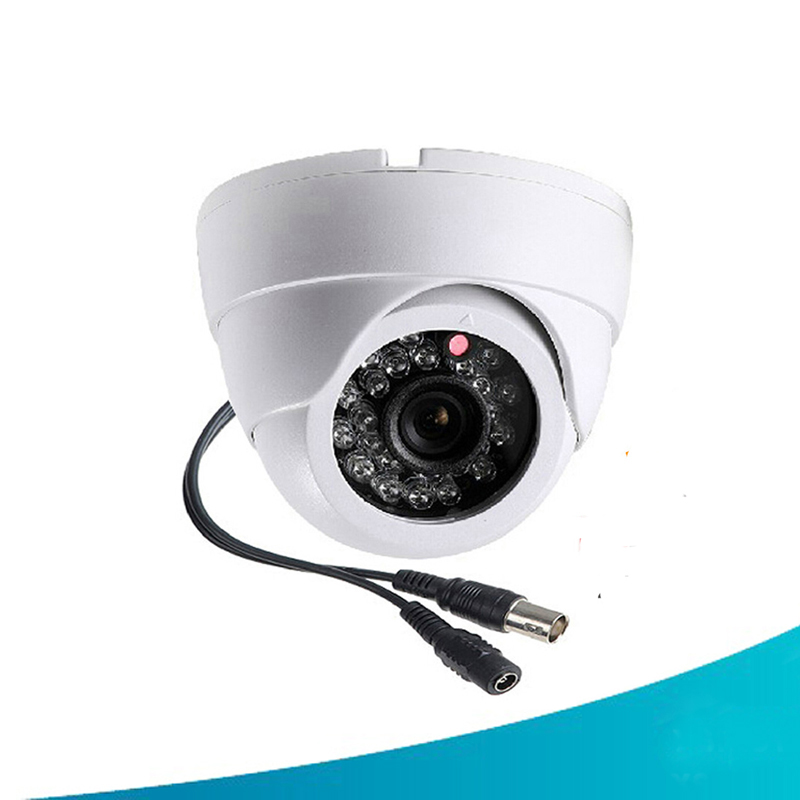 security camera 1 4 1000tvl cmos 24 ir led color ir night vision surveillance dome cctv camera. Black Bedroom Furniture Sets. Home Design Ideas
