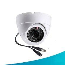 Security Camera 1/4″ 1000TVL CMOS 24 IR LED Color IR Night Vision Surveillance Dome CCTV Camera Home Indoor Camera Video Camera