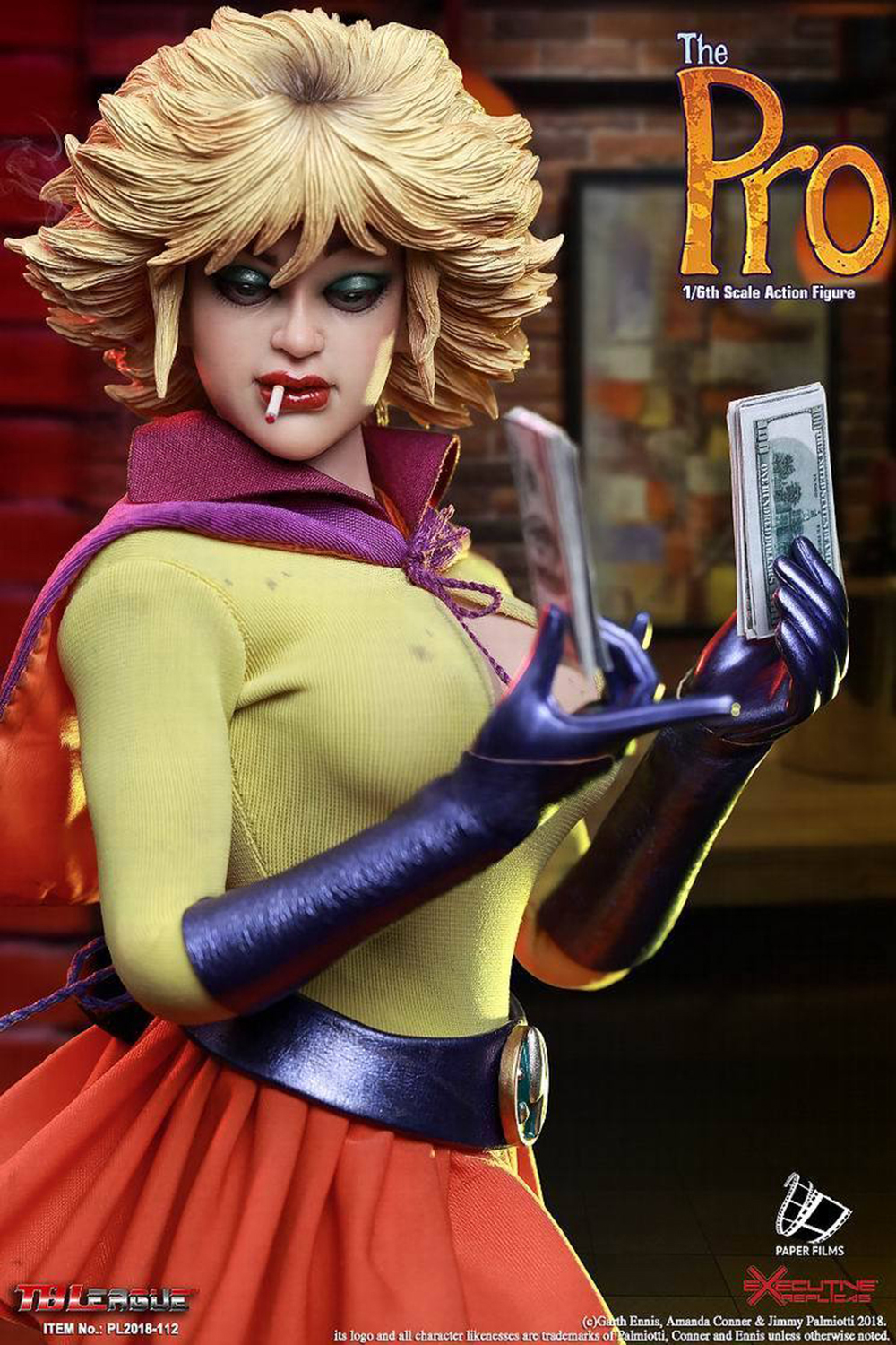 TBLeague PL2018-112 1//6 Scale The Pro Comics Female Hero Body Figure Model Doll