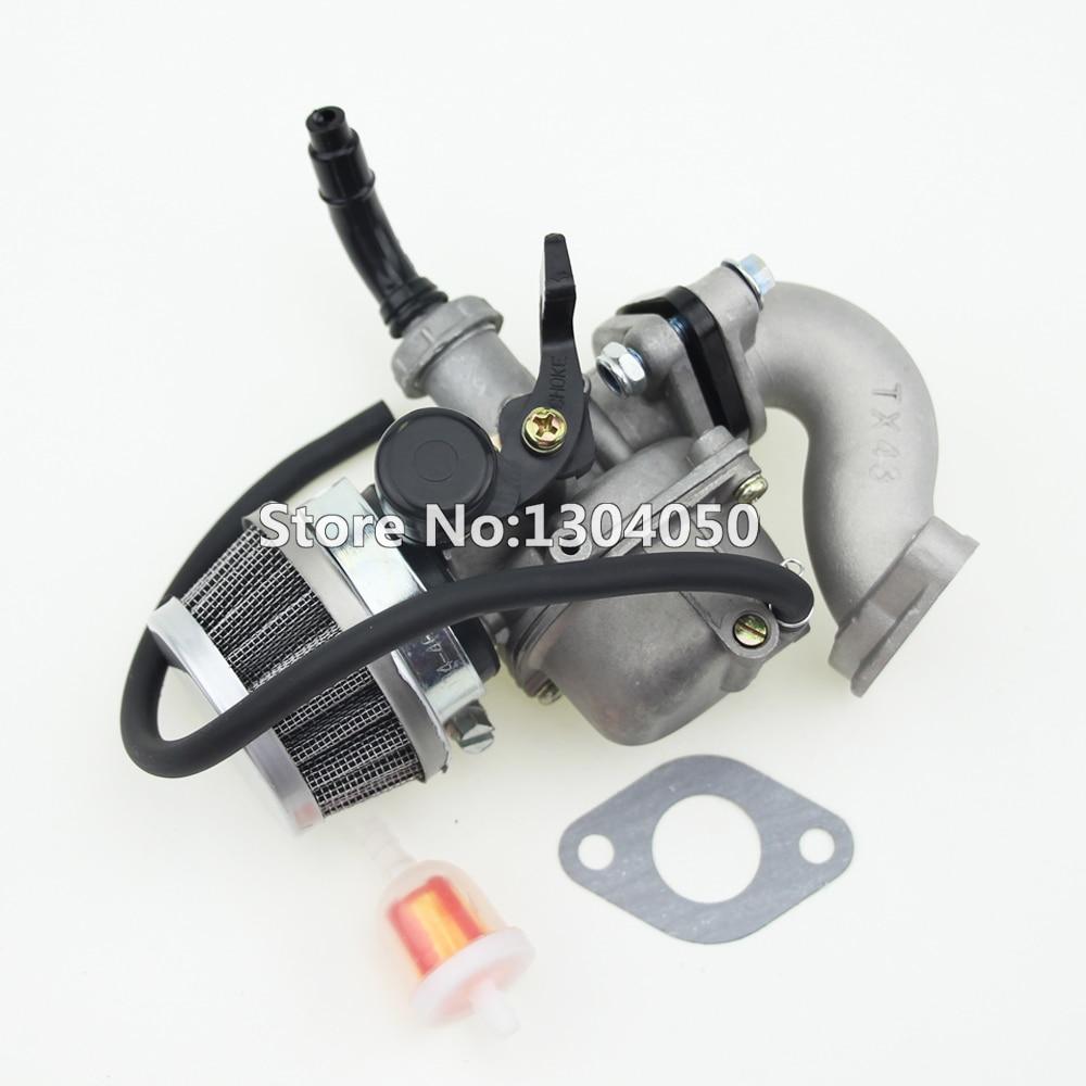 pz19 19mm hand choke carburetor carb intake pipe air filter fuel filter 50cc 70cc 90cc 110cc 125cc quad atv taotao sunl new in carburetor from automobiles  [ 1000 x 1000 Pixel ]