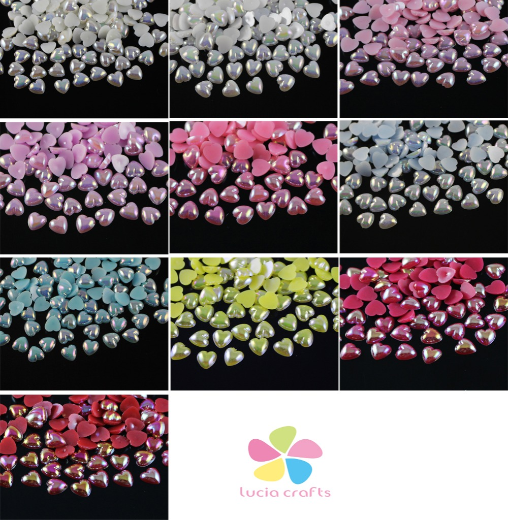 100pcs 20mm Starfish Shape Beads Craft Imitation Pearl Flatback Art Scrapbooking