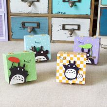 Color Patch Totoro Wood Crafts Music Box Creative Gift Box Hand Ornaments