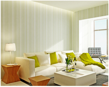 beibehang papel de parede Plain vertical striped yarn wallpaper simple modern non - woven background