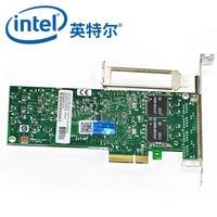 Intel EXPI9404PTL PRO/1000PTL карта адаптера Ethernet EXPI9404PTL Quad Порты и разъёмы серверный адаптер для ноутбука
