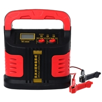 350W 14A AUTO Plus Adjust LCD Battery Charger 12V 24V Car Jump Starter Portable 0226
